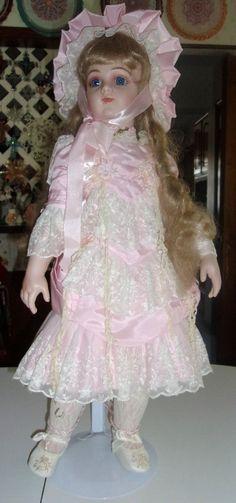 Porcelain Doll by Patricia Loveless..Portrait of by DOLORESROMMEL