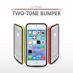 Two Tone Bumper Case for iPhone 5