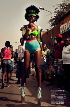 Raquel Pinto for FASHIZBLACK July/August 2012  Magazine for the Sports & Allure issue by Urivaldo Lopes.