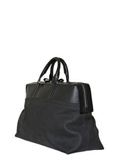 BONASTRE VEGETABLE NUBUCK LEATHER WEEKENDER BAG Luxury Shop, Weekender, Leather, Bags, Accessories, Shopping, Fashion, Handbags, Moda