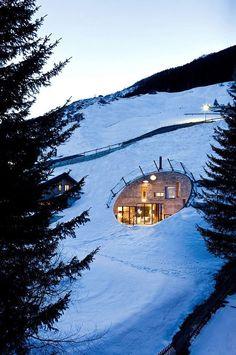 Villa Vals, a four-bedroom vacation rental in the stunning Alpine village of Vals, Switzerland.