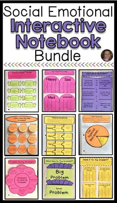 This bundle includes 5 social emotional interactive notebook resources. Topics include expected v. Coping Skills Activities, Social Emotional Activities, Shape Activities, Therapy Activities, Social Skills Lessons, Life Skills, Social Behavior, School Social Work, Guidance Lessons