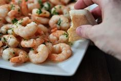 Family Style Shrimp Scampi