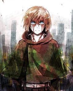 Armin Arlert. Attack on Titan.