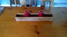 But now you can save your big amount on the candle holders as they are easily attainable from the pallets like we have achieved this stunning DIY pallet Diy Wood Projects, Wood Crafts, Cute Candles, Pallet Ideas Easy, Palette Diy, Diy Pallet Furniture, Votive Candle Holders, Wood Pallets, Centerpiece