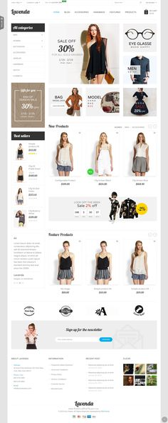SNS Lavenda - Responsive Magento Theme has 8+ homepage layout and with powerful features.