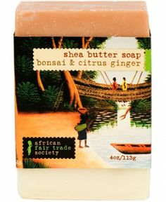 Bonsai and Citrus Ginger Soap | African Fair Trade Society | African Fair Trade Society