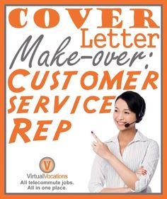 Competition in the customer service field is fierce. If you want to land a killer work-from-home customer service job, your cover letter needs to stand out. What distinguishes an outstanding cover letter from a bad [. Customer Service Jobs, Customer Service Representative, Cover Letter Help, Job Search Tips, How To Find Out, How To Make, Work From Home Jobs, Good To Know, Advice