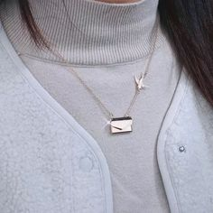 US$ 27.99 - Custom Photo Engraved Handbag Necklace - m.sheinv.com Photo Engraving, Off Colour, Custom Photo, Arrow Necklace, Jewelry, Presents, Holidays, Outfit, Fashion