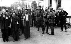 """Mogilev Jews kidnapped for forced labour"", by Rudolf Kessler, July 1941"