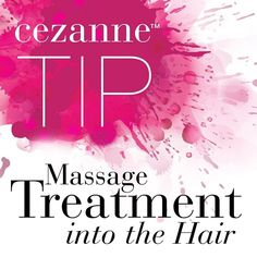Make sure to thoroughly massage the treatment into the hair (including hair line and porous ends) to properly emulsify the product.
