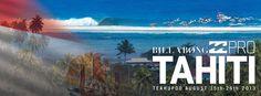 The Billabong Pro Tahiti presented by Air Tahiti Nui kicks off in 10 days. Air Tahiti, Tahiti Nui, 10 Days, Billabong, Surfing, Kicks, Presents, Tv, Painting