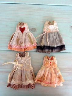 Doll outfits by Petite Apple for Lou doll by Nefer Kane