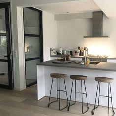 Image result for keuken wit hout beton