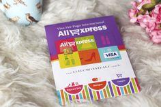 Me contem se vocês também amam fazer comprinhas no AliExpress! Dessa vez fiz a minha compra de uma forma diferente, usei o cartão pré-pago Visa AliExpress.