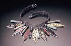 necklace by metal artist Kristi Zevenbergen... see more of her work  http://www.kristizevenbergen.com/