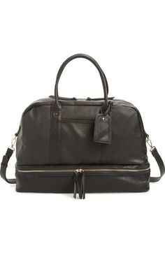 Sole Society 'Mason' Faux Leather Weekend Bag available at #Nordstrom