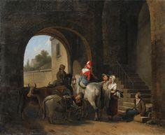 Cheval blanc, par Louis-Léopold Boilly