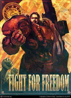 Geek Art Gallery: Posters: Starcraft 2 Propaganda