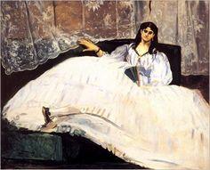 Jeanne Duval, l'enfer de Baudelaire... par Manet