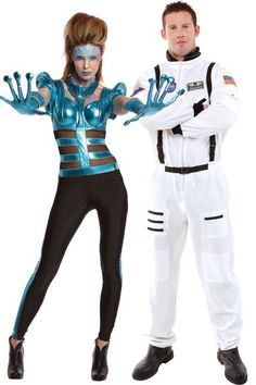 Become an out-of-this-world couple as the most cosmic pair in the galaxy.Out of This World Alien, $49.99, and Astronaut, $39.99