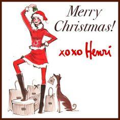 #HENRIBENDEL All About Fashion, I Love Fashion, Fashion Art, Christmas Fashion, Christmas Tag, Henri Bendel, Childrens Wall Art, Fashion Design Sketches, Italian Greyhound