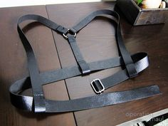 OOH Leather Harness Finished Product
