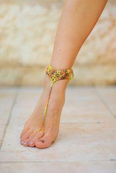 Украшение для ног для девочек и женщин от ZHAVI на Etsy