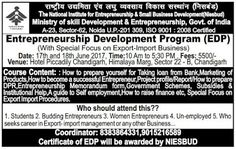 NEDC: Entrepreneurship Development Program with special ...