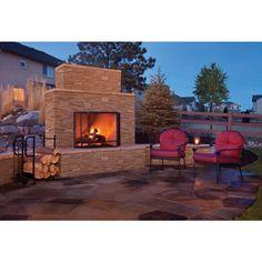 Ideas For Diy Outdoor Fireplace Plans Landscaping Ideas Build Outdoor Fireplace, Outdoor Stone Fireplaces, Outside Fireplace, Outdoor Fireplace Designs, Backyard Fireplace, Stone Masonry, Stone Veneer, Large Backyard Landscaping, Backyard Patio