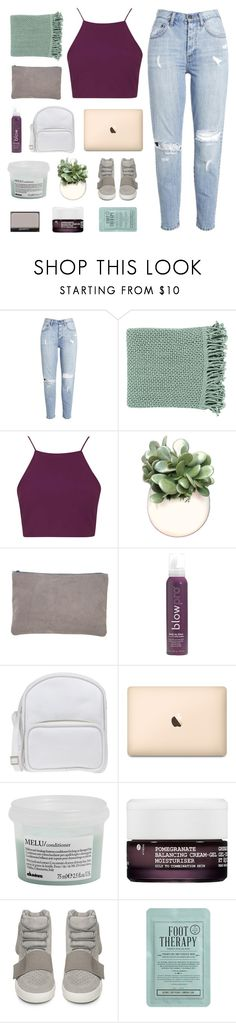 """views"" by omgjailah ❤ liked on Polyvore featuring Surya, Topshop, American Apparel, blow, Jil Sander Navy, Davines, Korres, adidas, NARS Cosmetics and Kocostar"