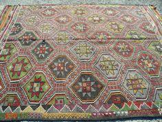 Kilim rug area rug turkish kilim. Sizes 6x9 by KilimRugStore