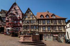 cidades pequenas e charmosas na Alemanha Miltenberg