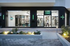 Cure and Care / Pharmacy Shop / Athens / Pharmacy Design / Retail Design / Store Design / Pharmacy Shelving / Pharmacy Furniture / Gallery of Pharmacy / Superdrug Store / Pharmacy Exterior Design Design Shop, Design Display, Shop Front Design, Shop Interior Design, Exterior Design, Shop Signage, Retail Signage, Signage Design, D House