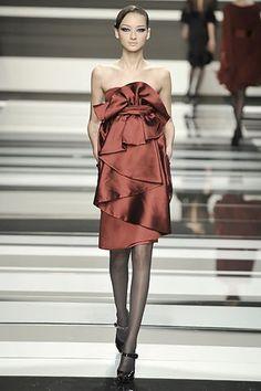 Elie Saab Fall 2008 Ready-to-Wear Fashion Show - Bruna Tenorio