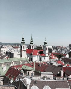 {Roof}  Memories from my #AmiamoVienna experience // The view on the top of House of Sea in Vienna