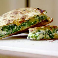 Cook the Book: Spinach Pie Quesadilla Recipe