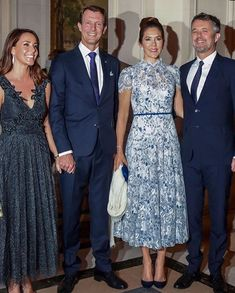 Crown Prince Frederik and Crown Princess Mary are on a visit to Paris to represent Denmark October)🇩🇰🇫🇷 . Day 2 The Crown… Crown Princess Mary, Princess Style, Prince And Princess, Queen Dress, Dress Up, Royal Fashion, Fashion Looks, Style Royal, Royal Families Of Europe