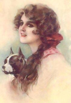 ArtbyJean - Vintage Clip Art: Vintage Ladies - Clip art for your ...