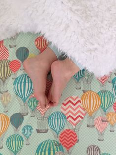 Crib Sheet in Hot Air Balloons by madlywish on Etsy https://www.etsy.com/listing/197017086/crib-sheet-in-hot-air-balloons
