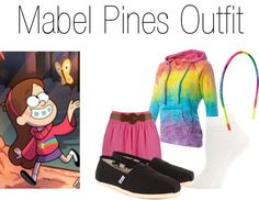 """""""Mabel Pines ( from Gravity Falls) Inspired Outfit"""" by hbgirl2001 on Polyvore"""