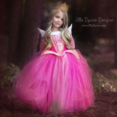 Sleeping Beauty Aurora Costume - Pink Blue Dress Maleficent Disney Movie by EllaDynae on Etsy https://www.etsy.com/listing/202825938/sleeping-beauty-aurora-costume-pink-blue