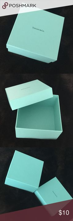 Tiffany Gift Box Like new Tiffany Gift Box 6 3/8 x 6 3/8 x 3 1/2 inches high.  Perfect condition. Tiffany & Co. Accessories