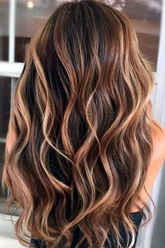 ombre hair Hair and beauty tips, trick - haar Brown Hair Balayage, Hair Color Balayage, Hair Highlights, Caramel Highlights, Color Highlights, Balayage Brunette, Haircolor, Best Ombre Hair, Ombre Hair Color