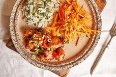 Adobo, az édes-savanyú mázas csirke Chili, Lime, Ethnic Recipes, Kitchen, Street, Food, Cilantro, Limes, Cooking