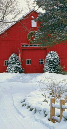 Merry Christmas - Farmhouse country decor at www.rubylane.com #vintagebeginshere
