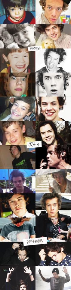 Your finally 20 ! Hazz your a great inspiration for many people and it's ok to fell a little old cuz to us you will always be the harry from the stairs . I love you and hope you have an amazing birthday ♡