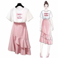 Trendy Fashion Design Drawings Clothing Inspiration Source by fashion design Korea Fashion, Asian Fashion, Look Fashion, Daily Fashion, Trendy Fashion, Girl Fashion, Fashion Outfits, Womens Fashion, Fashion Clothes