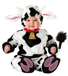 Baby Cow Costume - Mini Moo - ALMOST GONE $36.99