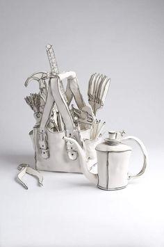 Porcelaine par Katharine Morling : Entre Sculpture et Dessin en Céramique